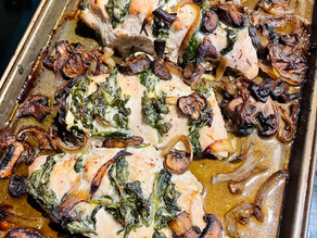 Goat Cheese & Spinach Stuffed Chicken Breast