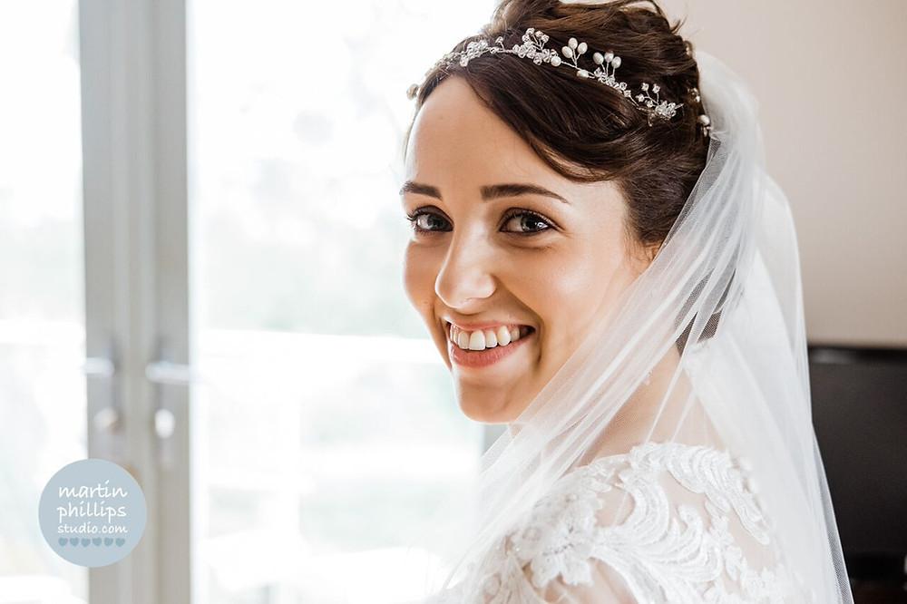 Bridal headpiece Fern by Rachel Chaprunne