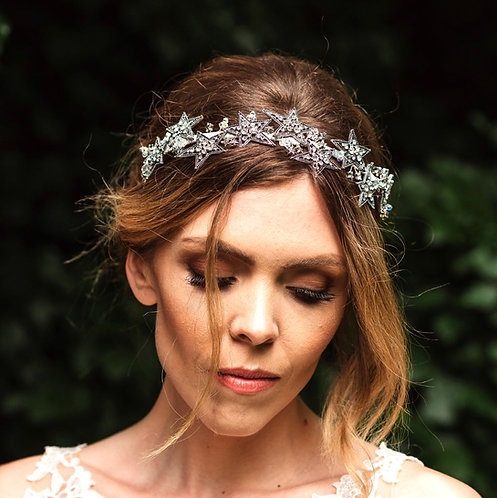 Star wedding headpiece - Astraea
