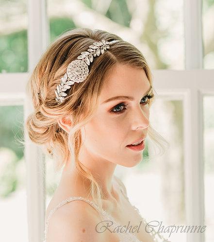 1920s Gatsby bridal headpiece - Lia