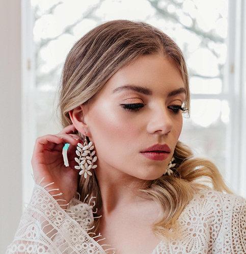 Bohemian wedding earrings - Anouk