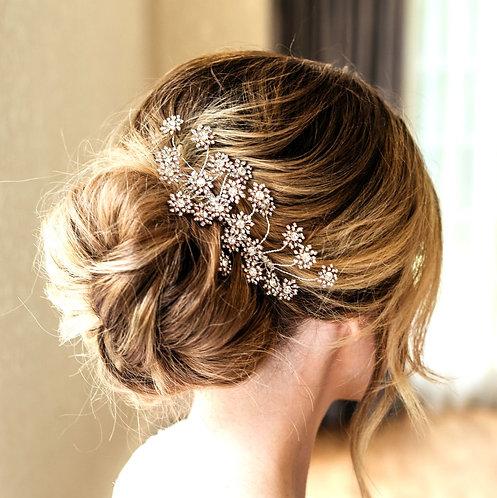 Star celestial bridal headpiece - Electra
