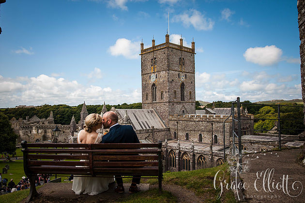 St. Davids cathedral Pembrokeshire