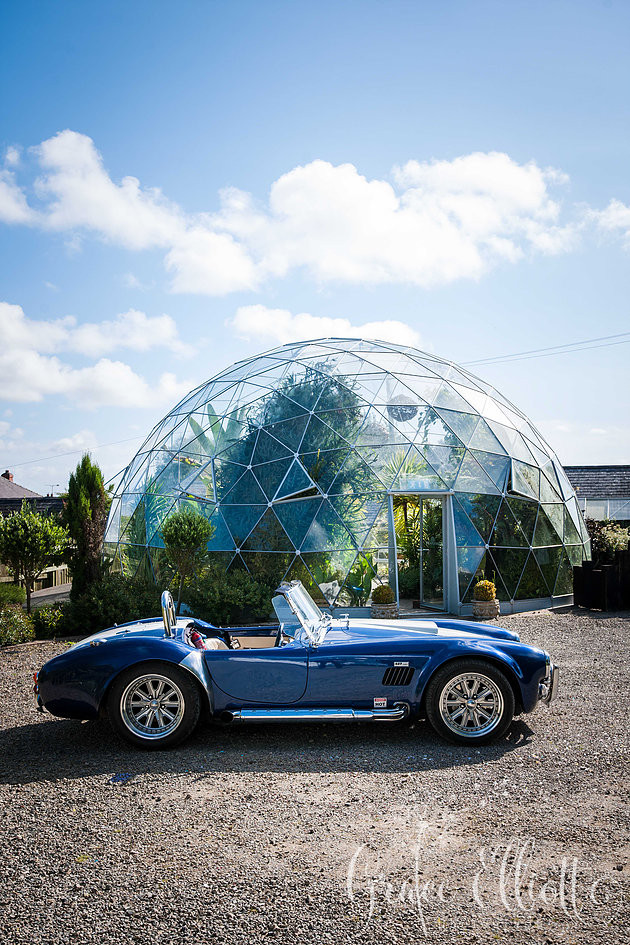 wedding cobra car