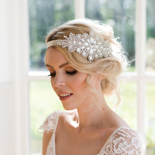 Art Deco vintage wedding hair accessory