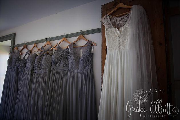 wedding- dress-bridesmaids-dresses-