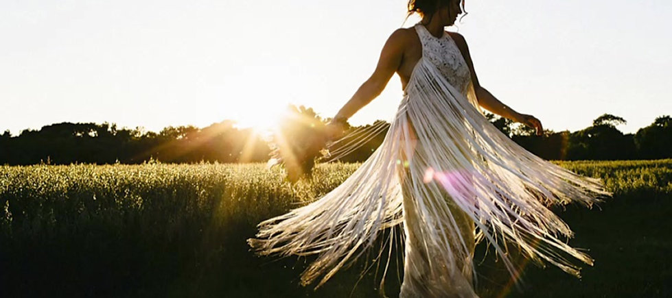 Boho weddings real brides