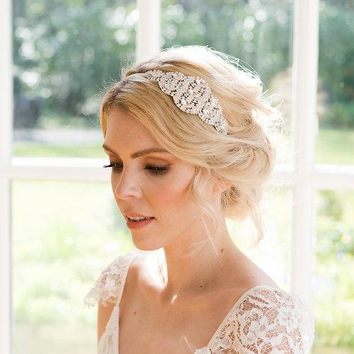 Art Deco wedding Headpiece