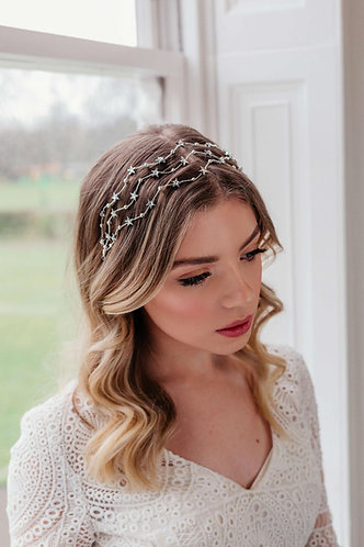 Boho celestial star headpiece - Estella