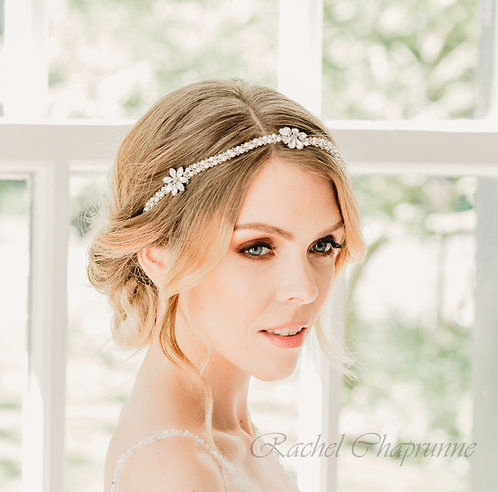 Vintage boho bridal hair vine - Juliet