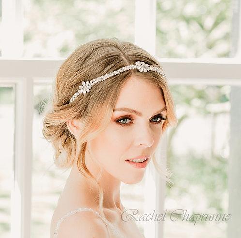 Vintage boho bridal hair vine - Juliet