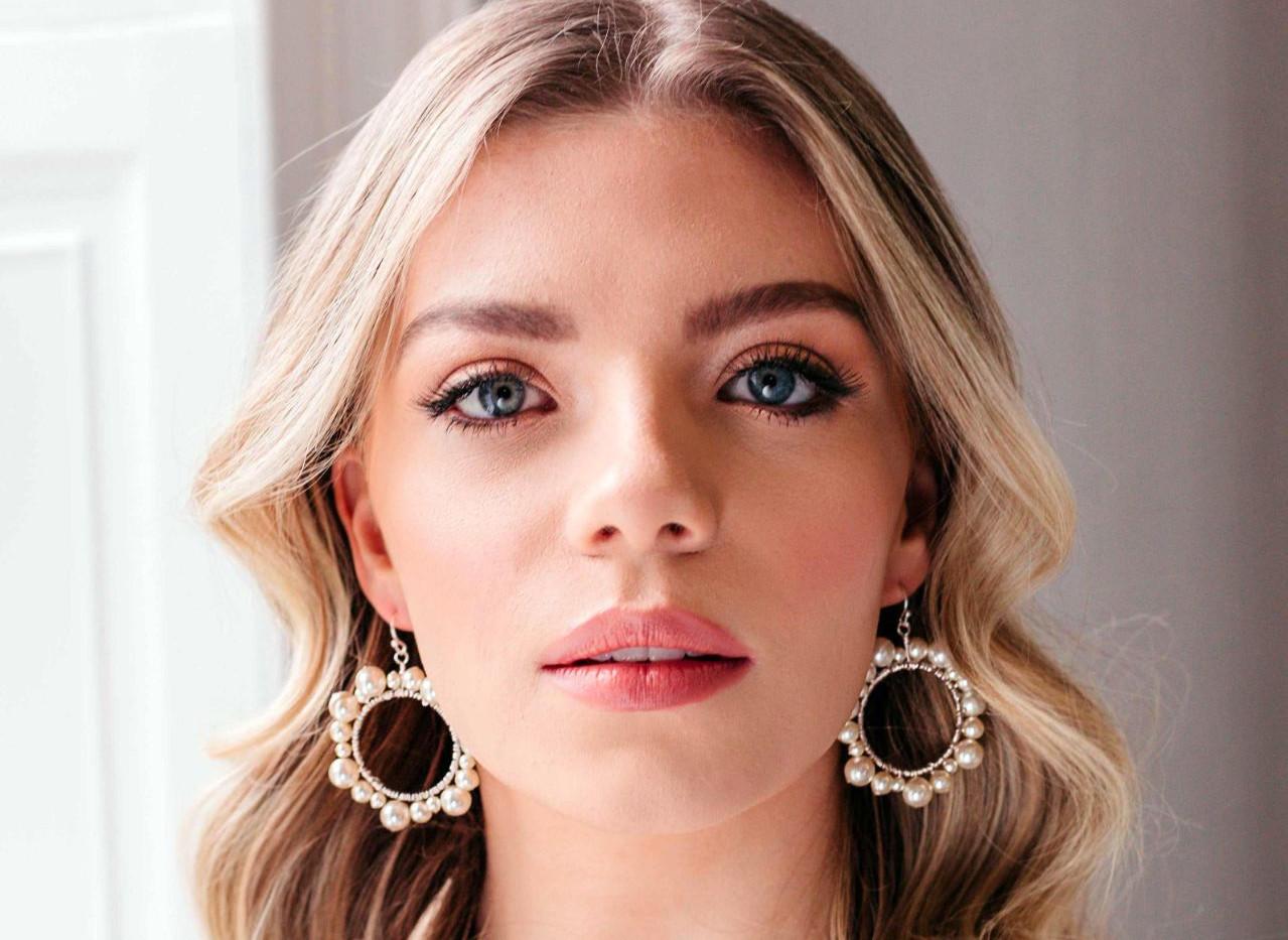 pearl-hoop-earrings-boho-bridal-earrings