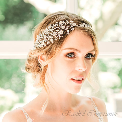 Statement bridal hair vine - Ariele