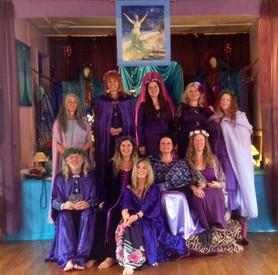 Dedicação Sacerdotisa de Avalon 2014