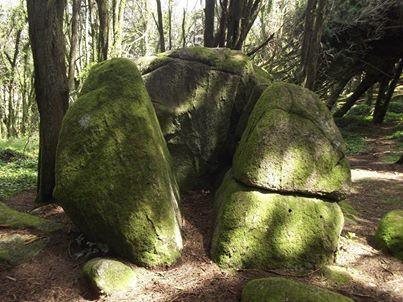 Pedra da Deusa, serra de Sintra