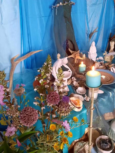 Altar de Litha