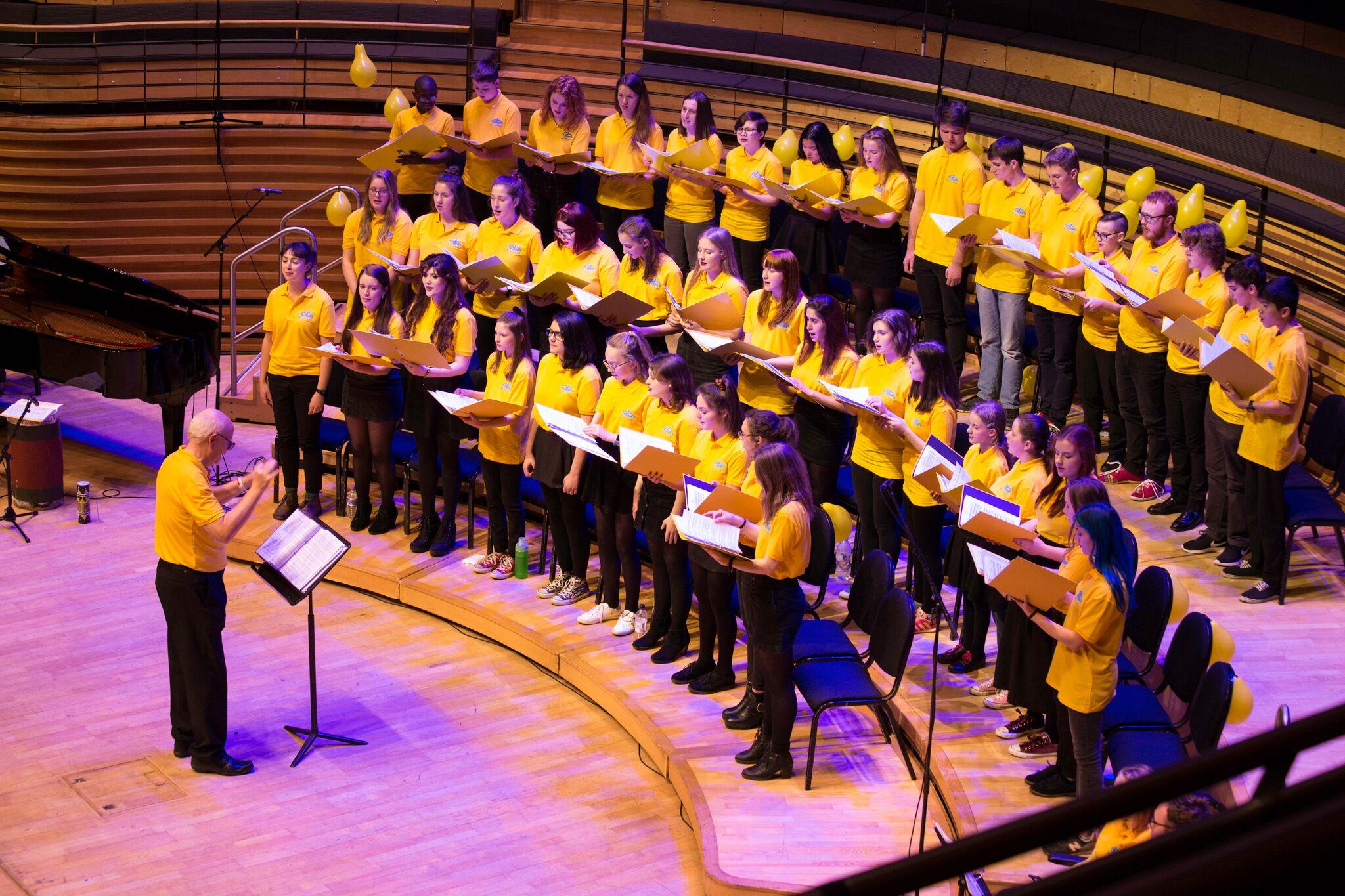 First half, the current choir