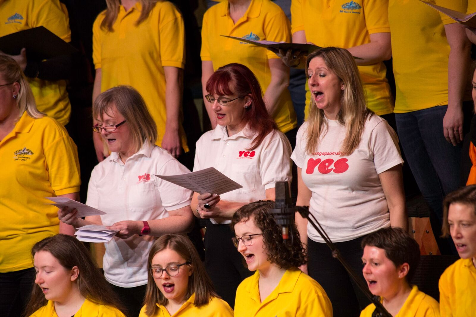 Not-so-Young Epsom Singers