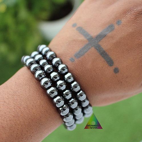 Bracelet Ancrage - Hématite