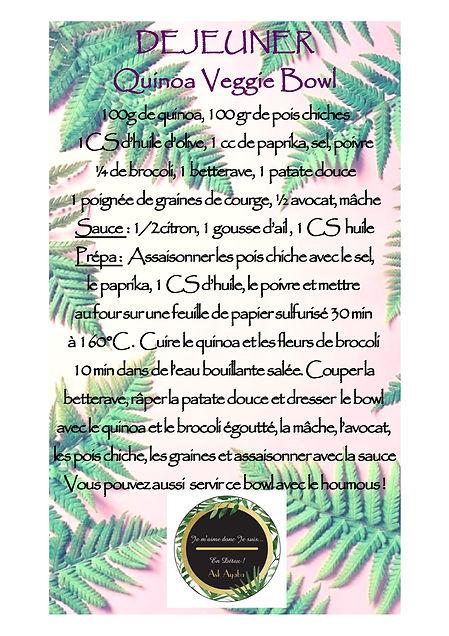 Quinoa Veggie Bowl_SpringDetox_Foie et R