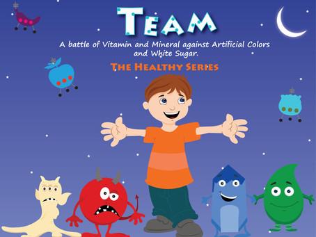 ספר ילדים לשיפור הרגלי התזונה