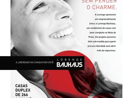 Lançamento Lorenge Bauhaus