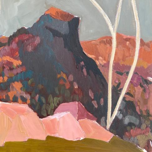 Black Stone Mountain. 30 x 40cm Meaganja