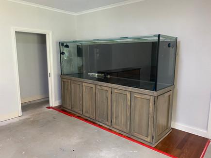 Aquarium ready to be relocated