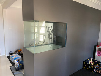 Custom In-Wall Aquarium