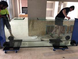 2700mm x 420mm x 960mm (15mm) Glass Aquarium