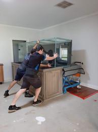 Relocating Aquarium