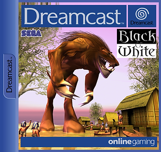 Black and White dreamcast pal corver