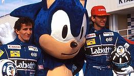 Sega F1 World Grand Prix Sponsor Sonic M