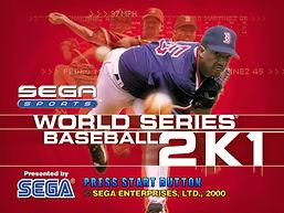 Dreamcast World Serie Baseball 2K1 main