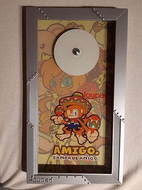 "Joypad cadre cadeau aux édieur ""Samba De Amigo"" Dreamcast"
