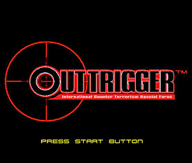 Outtrigger Dreamcast GD-R title menu.jpg
