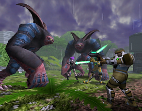 Phantasy Star Online ennemis