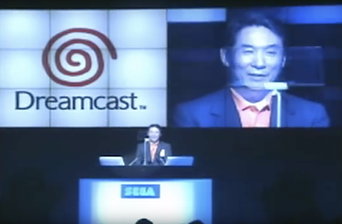 The Sega New Challenge dreamcast conference.png