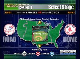 Baseball 2K1 dreamcast prototype stadium
