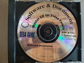 Master CD for video family Sega game 3D-