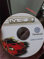 Metropolis Street Racer Dreamcast photo pack CD