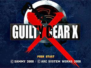 Guilty Gear X dreamcast prototype main t