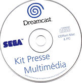 Kit Presse Multimédia Dreamcast CD