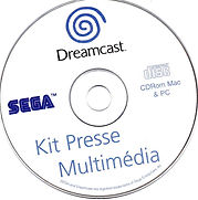 Kit Presse Multimédia Dreamcast CD