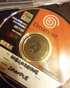 Emulateur Megadrive Officiel pour Dreamcast prototype
