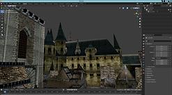 Castlevania dreamcast village texture.pn