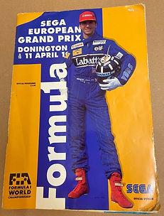 Sega programme du grand prix de F1 de Do