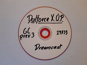 Unrelease Homebrew SEGA Dreamcast prototype Dalforce X.O.P