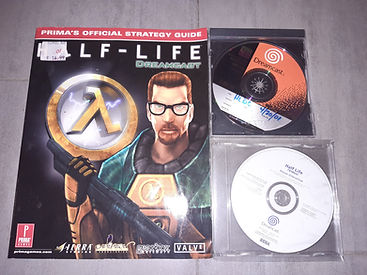Haf Life SEGA Dreamcast unreleased collection (prototype, white label)