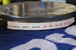 Pubs Sega Megadrive bobines 35 mm
